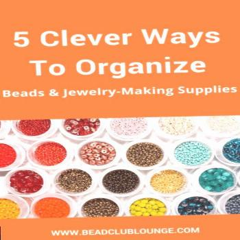 ✔ Jewelry Making Organization Small Spaces