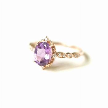 17-vintage-amethyst-engagement-ring