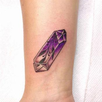 Amethyst for Gina from flash done by  . . . .                   ... -