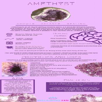 Amethyst healing benefits  Learn about the healing properties of amethyst crystal and how to use cr