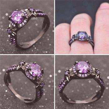 Amethyst is prized for the associated qualities of peace, courage, stability, sincerity and strengt