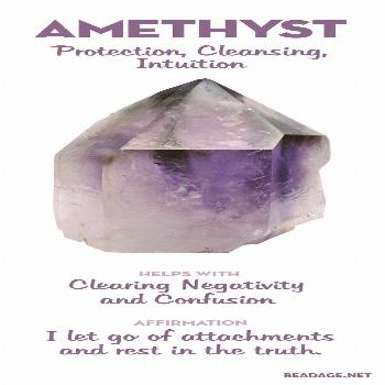 Amethyst Meaning & Healing Properties   Gemstone meanings, gemstone information, and crystal benefi