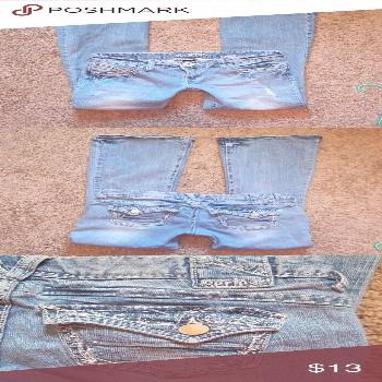 Amethyst Series 31 Jeans Amethyst Series 31 Jeans  Short and Sexy Gently worn Size 5 Amethyst Jeans