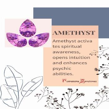 Amethyst Stone Amethyst Meaning - At Energy Muse, our crystals and stones such as the Amethyst have