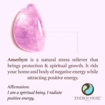 Amethyst Stone, View the best Amethyst Stones from Energy Muse Now