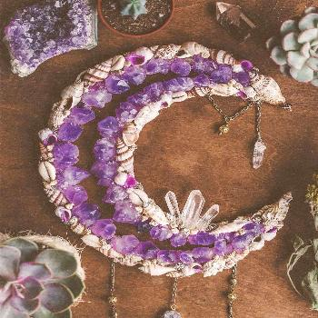 "☼Boho Mermaid Decor & Crowns☼ on Instagram: ""I hope you would love to see this big Amethyst b"