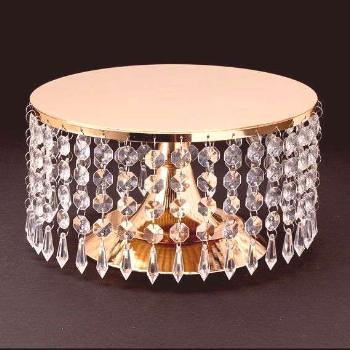 Crystal Cake Stand by BlingBridalEvents on Etsy