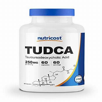 Nutricost Tudca 250mg, 60 Capsules (Tauroursodeoxycholic