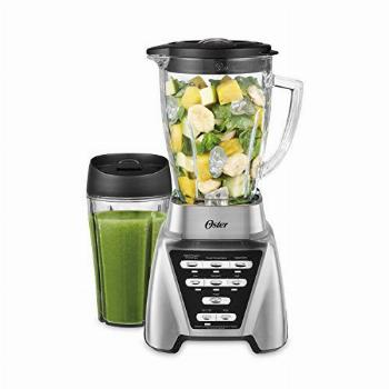 Oster Blender | Pro 1200 with Glass Jar, 24-Ounce Smoothie