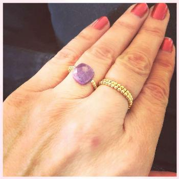 Ruby ❤️ our new ring with this lovely stone, so beautiful. A lot of new styles will hit the nex