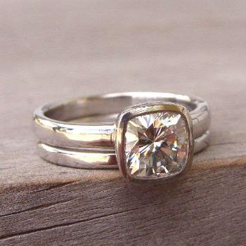 Wow, love this!!! /listing/151500588/square-cushion-cut-forever-brilliant