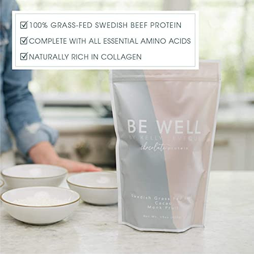 Be Well by Kelly - Swedish Grass-Fed Beef Protein Powder -