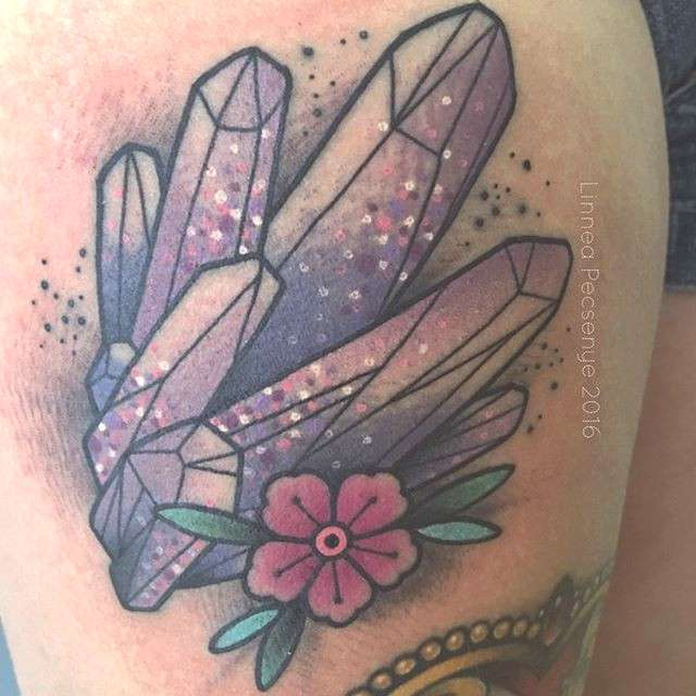 Celebrate Your February Birthday With An Amethyst Tattoo –