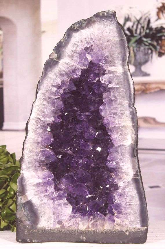 Decorative Rocks Ideas LARGE AAA QUALITY Amethyst Geode Cathedral