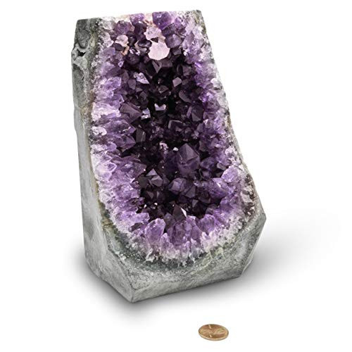 EMPORION Natural Amethyst (4 lb to 5 lb) Crystal Clusters