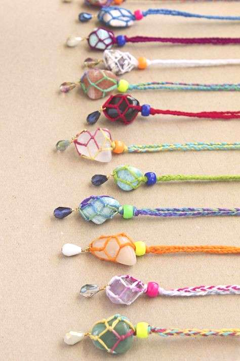 Kid Friendly Bling 6 DIY Necklaces -