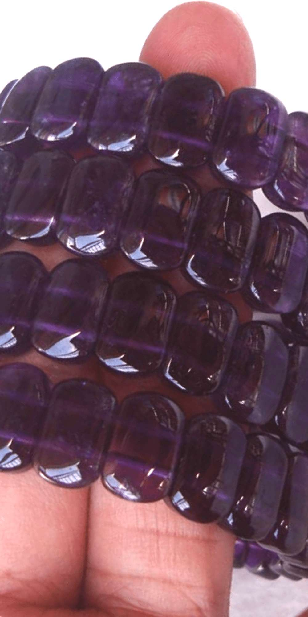 Natural Amethyst Bracelet - Eclectic Witchcraft The perfect psychic jewelry is made with amethysts.
