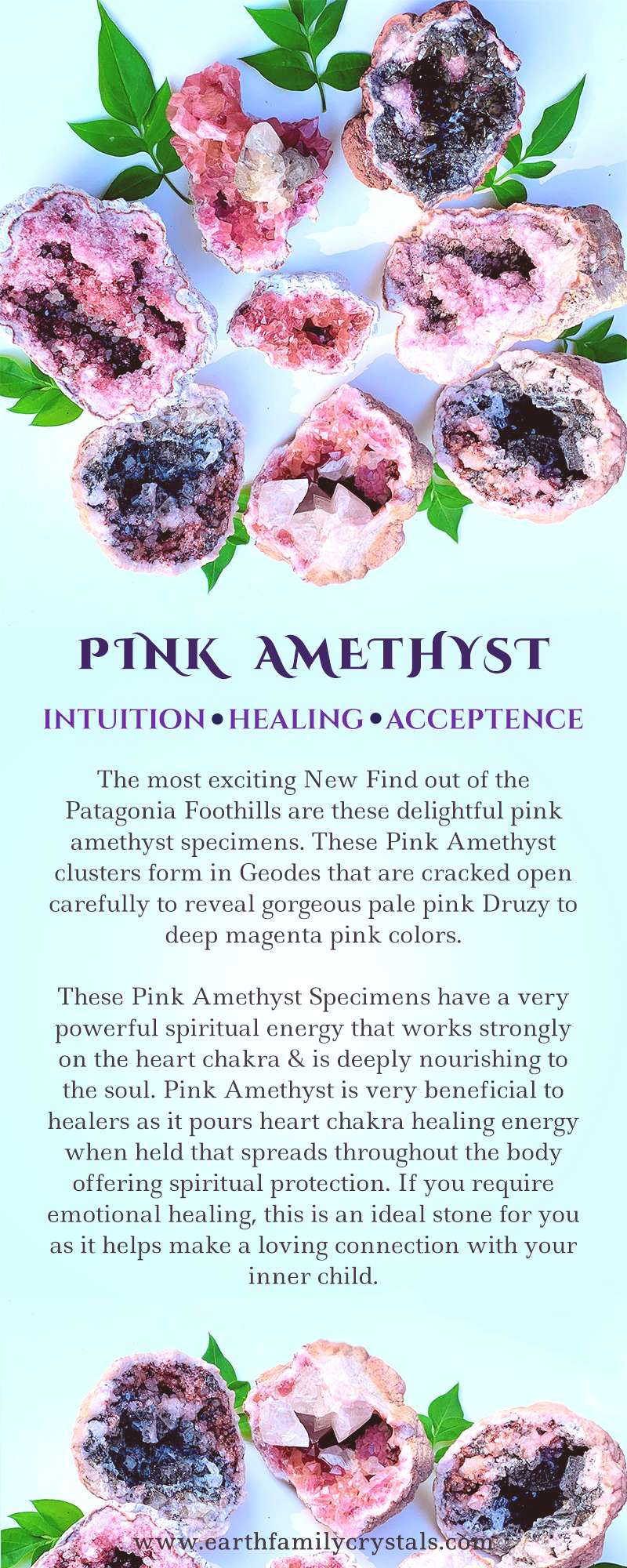 pink amethyst meaning / pink amethyst geode / pink amethyst benefits / pink amethyst crystal / pink