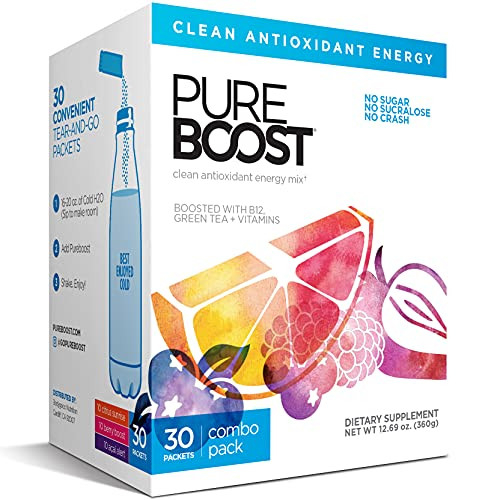 Pureboost Clean Energy Drink Mix + Immune System Support.