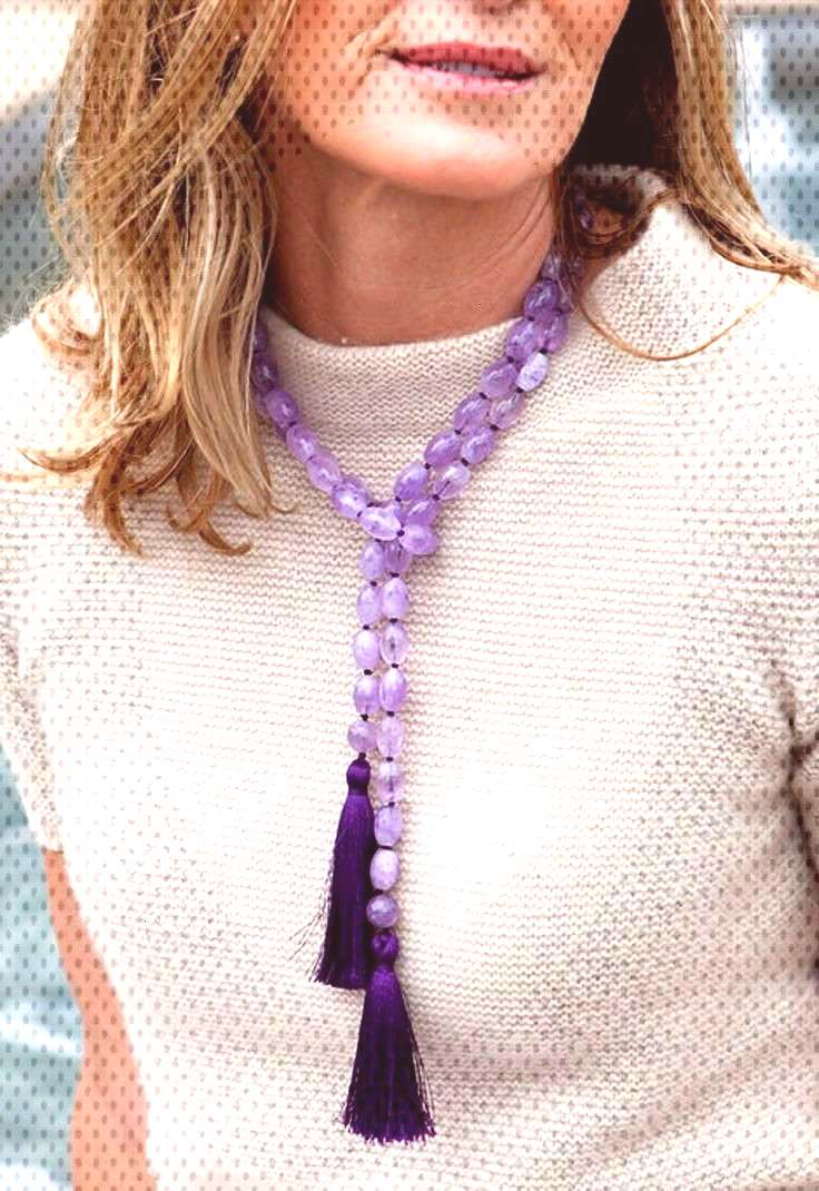 The perfect go-to necklace for casual celebrations, you'll reach for this amethyst necklace to add