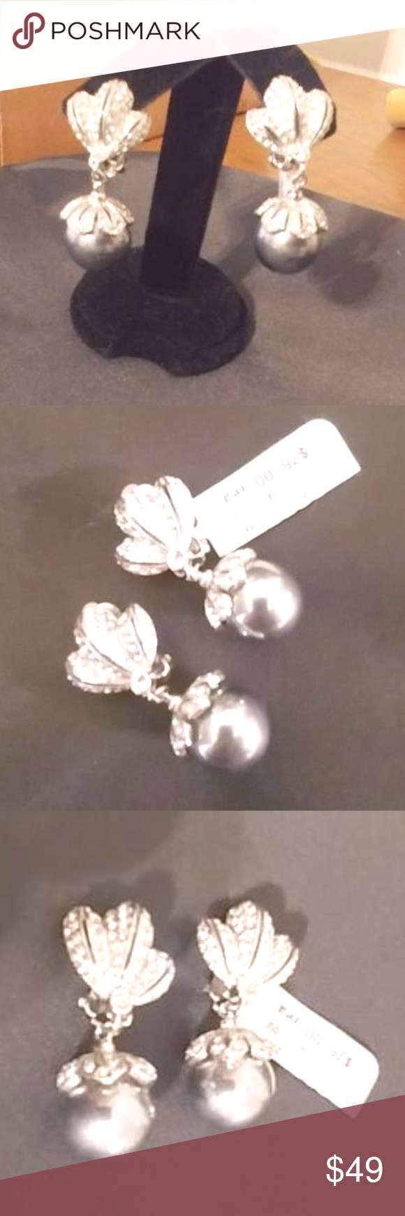 Vintage Jarin Clip Earrings Lillie Rubin Gorgeous sparkly Jarin earrings, nearly new. Worn once to